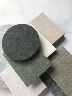 New colour alert! Introducing 4 beautiful muted hues to our solid colour acoustic panels, also available in our Sculpt, Ceiling Flats + Baffles. Link in bio to see the entire palette and collection.