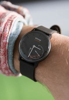 """The Withings' Activité Pop is a stylish analog watch and featuring a secondary gauge that shows how much """"activity"""" (steps) you've done per day."""