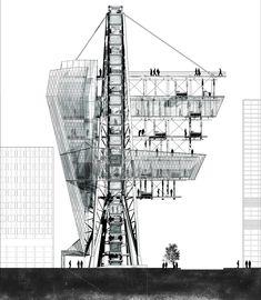 SUBURBIA TOWER - Aaron Berman Architecture