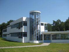 The estate Zonnestraal (former sanatorium) Hilversum, the Netherlands. 1925-31, by Jan Duiker, Bijvoet.