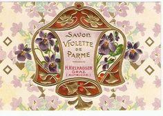 Antiques Atlas - Art Nouveau European Perfum Labels