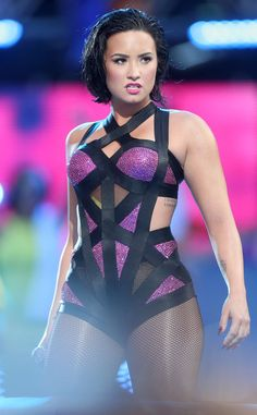 Demi Lovato Gives Herself Powerful Pep Talk Before VMAs Performance: Hear Her Inspirational Mantra!  Demi Lovato, 2015 MTV Video Music Awards, VMA