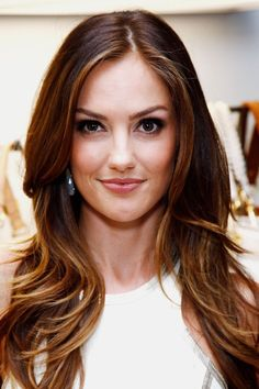 Hair ideas for brunettes balayage minka kelly ideas for 2019 My Hairstyle, Pretty Hairstyles, Wedding Hairstyle, Minka Kelly Hair, Baliage Hair, Bayalage, Natural Brown Hair, Dark Hair With Highlights, Ombre Highlights