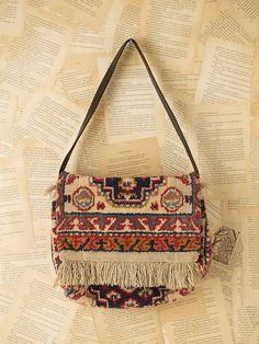 Vintage Carpet Bag - Lyst