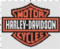 Harley Davidson Graph to Make a C2C Afghan