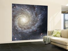 Spiral Galaxy Messier 74 Wall Mural – Large at AllPosters.com