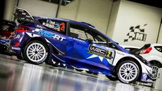Ford Fiesta WRC 2017 rally racing livery. We collect and generate ideas: ufx.dk