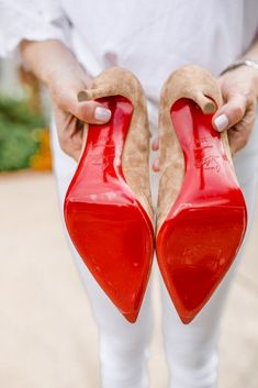 We all know what that that red sole means. A fabulous pair of Christian Louboutin shoes. But do you know how to protect those precious red soles? Red Louboutin, Christian Louboutin Heels, Louboutin Shoes Women, Red Bottom Heels, Shoes 2018, Giuseppe Zanotti Heels, Heels Outfits, Red Sole, Red Bottoms