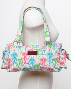 Bungalow 360 Jellyfish Satchel - Multicolored