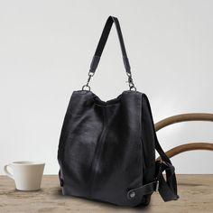Bolsos de mujeres mochilas de cuero negro para los colegios barato online [AL93172] - €44.46 : bzbolsos.com, comprar bolsos online