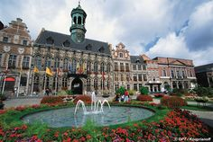 Mons, Belgium - I was born just outside of this city! Dad was a CW3 at SHAPE HQ. Revisited back in 1996.