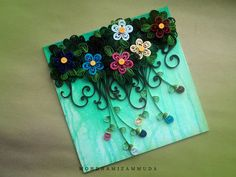 Miezam quilled flowers