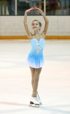 figure skating dresses for girls kids competition skating dress child custom blue clothing free shipping