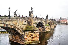 Travel backpacking wanderlust travelquotes travelquote travelling beach city landscape - Prague, Czech Republic