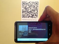 Generate a QRCode Having WiFi Details for Easy Access to Guests