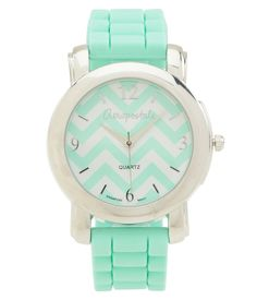 Chevron Rubber Watch from Aeropostale