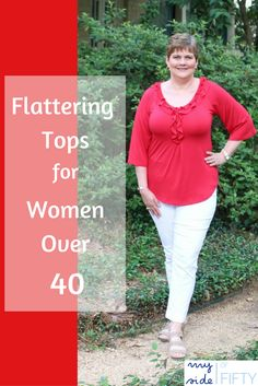 A review of the Ruffled Neck with Bell Sleeve Top by Covered Perfectly. Covered Perfectly is a line of clothing designed to flatter women over 40.