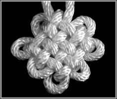Pan Chang Knot Instrucitons by TIAT (Step-by-Step Illustrations)