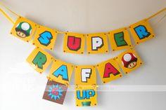 Festa Super Mario Bros. O aniversário de 6 anos do Rafael será de altas aventuras, a turma dos baixinhos Mario e Luigi estarão presentes! ...