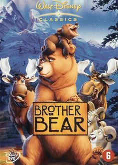 Buy Brother Bear on DVD at Mighty Ape NZ. Disney proudly presents BROTHER BEAR, an epic animated adventure full of comedy and heart. Streaming Hd, Streaming Movies, Hd Movies, Movies To Watch, Movies Online, Movies And Tv Shows, Movie Tv, Brother Bear, Walt Disney Pictures