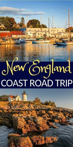 5 Must-See Spots on a New England Coast Road Trip Lighthouses, lobsters, & leisure. There is so much to do on a New England coast road trip. This itinerary will ensure you see the top spots. East Coast Travel, East Coast Road Trip, Us Road Trip, Road Trip Hacks, Maine Road Trip, New England States, New England Fall, New England Travel, Ways To Travel