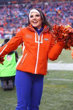 Denver Bronco Cheerleaders, Denver Broncos, Cheerleading, Rain Jacket, Windbreaker, Athletic, Sports, Jackets, Fashion
