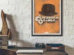 Items similar to A Clockwork Orange - archival art print poster on Etsy Poster On, Print Poster, Angel Trumpet, Indie Art, Mixed Media Artwork, Trumpets, Paper Dimensions, Local Artists, Art Prints