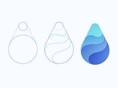 Drop Logo Steps by Yoga Perdana
