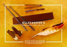 Ollivander's - Operating since 381BC -- Ollivander's arrived with the Romans and set up stall to manufacture and sell wands to British Wizards whose wands were crudely made and inferior in quality and performance.