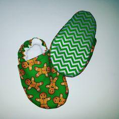 Gingerbread man shoes Cuddlythreads @ Etsy