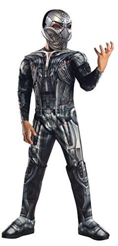 Avengers 2 Age of Ultron Deluxe Ultron Child Halloween Costume, Boy's, Size: Large, Multicolor Marvel Avengers, Avengers Movies, Bug Out Bag, Age Of Ultron, Boy Costumes, Halloween Costumes For Kids, Costume Ideas, Baby Halloween, Villain Costumes