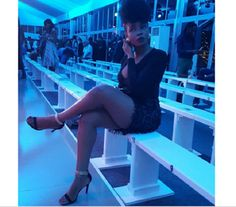 Yemi Alade puts boobs and hot legs on display in new photo..   See hot photo shared by Yemi Alade... Hmmm!  Yemi Alade puts boobs and hot legs on display  Mama Africa Yemi Alade who is presently in South Africa for Mercedes Benz Fashion Week share this photos.