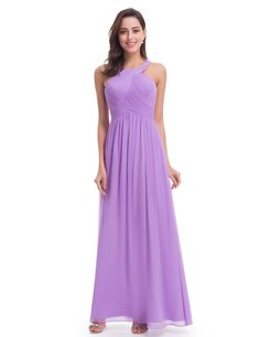 31d22cdcab Long Criss-Cross Halter Neck Evening Dress