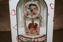 Betty Boop Clock - my youngest daughter got me this for Christmas - absolutely gorgeous!