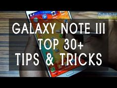 ▶ 30+ hidden Samsung Galaxy Note 3 III TIPS & TRICKS you 'MUST KNOW' by Gadgets Portal - YouTube