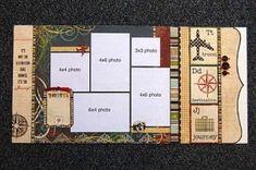 Travel scrapbook layout by PieLover14