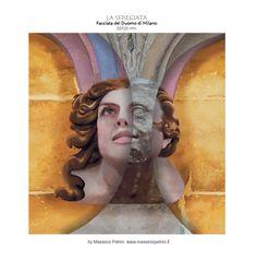 """La sfregiata"" / ""The defaced"" by Massimo Petrini"
