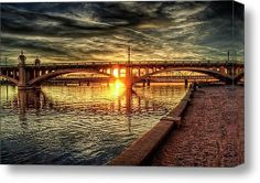 The Golden Hour Canvas Print by PhotographyBySaija on Etsy, $175.00