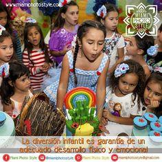 #SabíasQue La diversión infantil es garantía de un adecuado desarrollo físico y emocional. --->