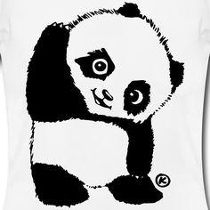 """""""Baby Panda"""" das neue T-Shirt von Ausgezeichnet!  Like wenn du auch ein Panda Fan bist    Mit Liebe gezeichnet    Wenn auch du dieses #tshirt möchtest schau einfach im Ausgezeichnet Store vorbei: http://ift.tt/2r0IG0C"""