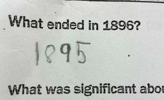 Here Are 25 Kids That Gave Absolutely Brilliant Answers On Their Tests. These Are Hysterically Genius.