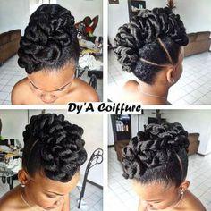 Mohawk cheveux naturels - March 16 2019 at Natural Hair Updo, Natural Hair Care, Natural Hair Styles, Short Hair Styles, Black Hair Updo Hairstyles, African Hairstyles, Braided Hairstyles, Hairstyles 2016, Medium Hairstyle