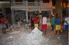 #News  Criminosos explodem agências de banco e Correios  em Coronel Murta no Vale do Jequitinhonha