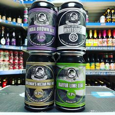 4 new beers from @boxsocialbrewing including a Passionfruit White IPA colab with @ne_alchemy available now