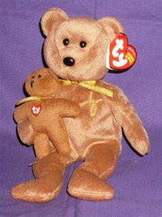 2005 Signature Ty BEANIE BABIES BEARS - TEDDY BEAR -MINT WITH TAGS cb46a76187be