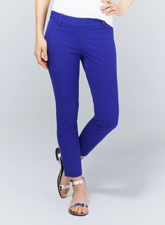 I have these pants in Navy, but they would look great in black or a color that has more pop. Plus the fit is good enough that you can wear with boots if you want to transition them to winter.  ELLIOT PANT TT Babaton | Artizia
