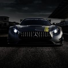 The sports car and performance brand of Mercedes-Benz is presenting a new customer sport racing car that complies with FIA GT3 race regulations in the form of the new Mercedes-AMG GT3. The superb racetrack performance of the road-going GT forms the ideal basis on which to model the new Mercedes-AMG GT3, which is due to make its debut appearance at the Geneva Motor Show. #Mercedes #Benz #AMGGT #AMG #GT #GT3 #GenevaMotorShow #Geneva #FIA #instacar #carsofinstagram #germancars #luxury