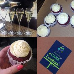 Fun times tonight networking at the #londonweddingsuppliers #tweetup organised by the lovely @thecustomcakeboutique at #searcys #champagnebar at #stpancras - she even brought these delicious #minicupcakes  #wedding #weddingsupplier #cupcake #blogger #london #londonblog #londonblogger #weddingblog #weddingblogger #devinebride #weddingideas #weddinginspiration #networking