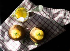 Honey Lemon Curd Muffins