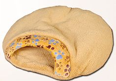MaruPet Petmuch Fleece Lambswool Pet Sleeping Bag Cat House Cushion with Paw Print ** Want to know more, click on the image. (This is an affiliate link) #DogBedsandFurniture
